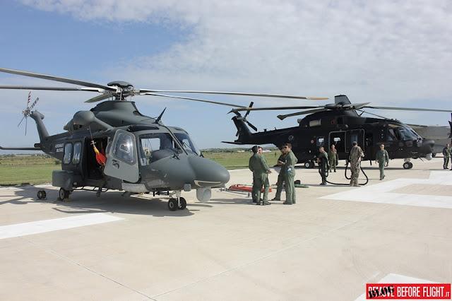 Aeronautica Militare esercitazione Grifone 2017