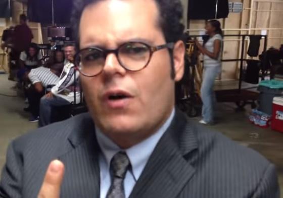 Wedding Ringer Cast.Tviscool Josh Gad Impersonates Jennifer Lewis On Set Of The Wedding