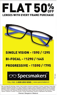 SPECSMAKERS  50% OFF