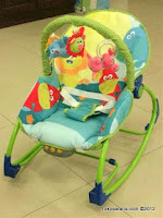 1 Pliko PK306 Animal Rocking Chair Hammock 3 Phases in Green