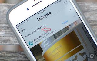 Fitur Rekomendasi Instagram, Berikut Fungsinya