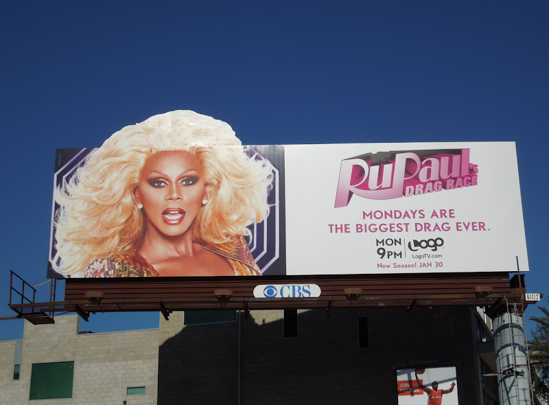 RuPaul's Drag Race season 4 billboard