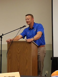 Coach Harsin PNW Optimist Clubs pnwdoptimist