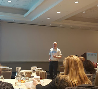 Christophe Trappe talks about content marketing at ePharma Summit in NYC