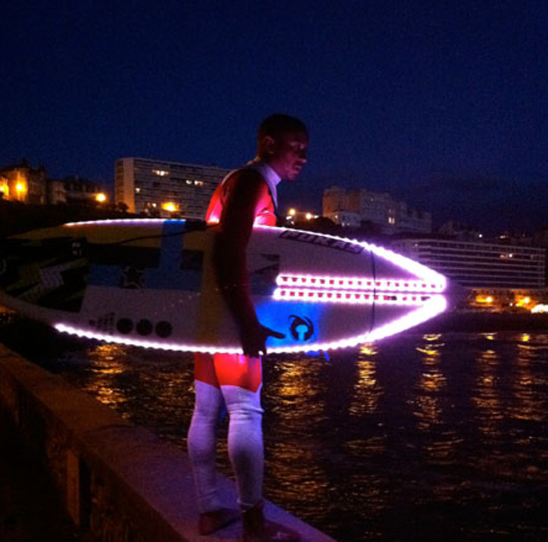 If It S Hip It S Here Archives Led Surfboards Light Up