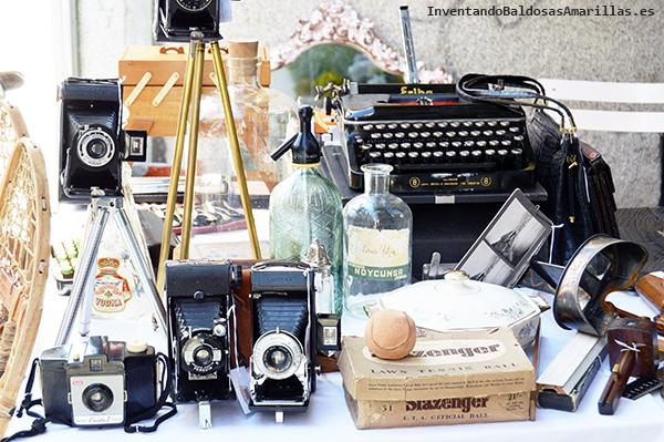 Decoración vintage camaras de fotos