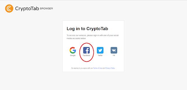 cara login di situs cryptotab