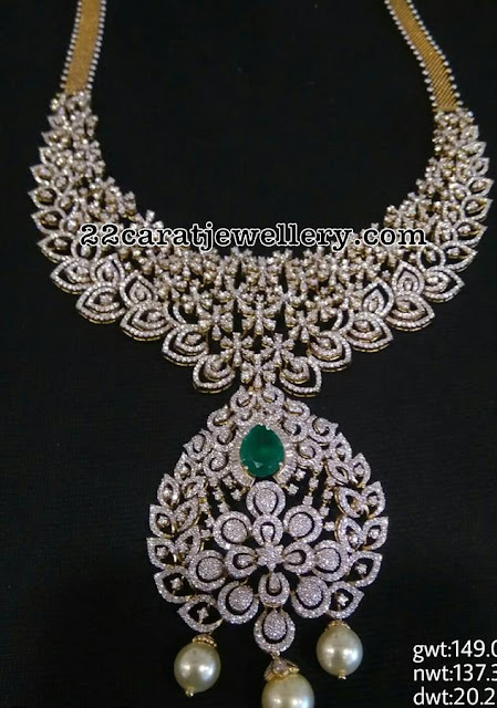149 Grams Diamond Necklace