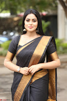 Poorna in Cute Backless Choli Saree Stunning Beauty at Avantika Movie platinum Disc Function ~  Exclusive 156.JPG