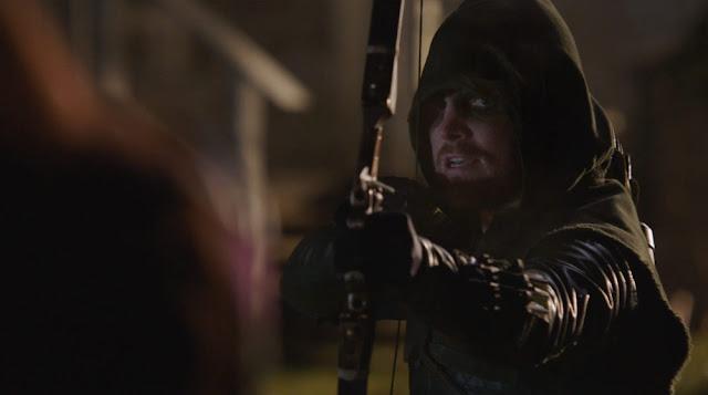 Arrow, Huntress Returns