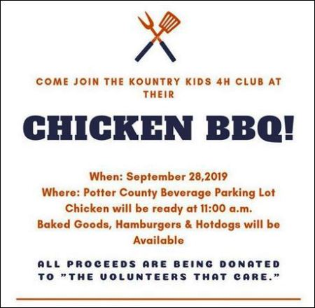 9-28 Chicken BBQ, Coudersport