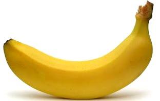 Foto de un lindo plátano solitario