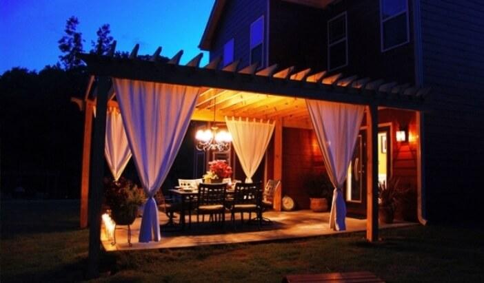 Cozy Home Outdoor Dining Room Design Ideas