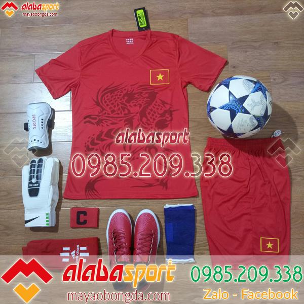 Áo đội tuyển Việt Nam đỏ 2019