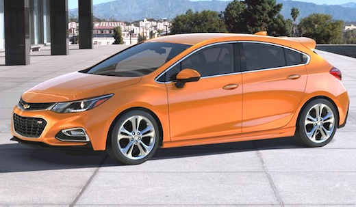 2019 Chevrolet Cruze Hatchback Redesign