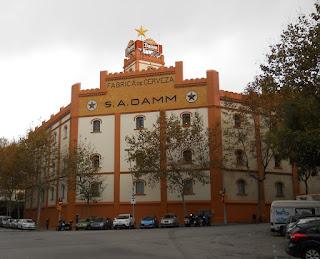 fachada de la fabrica