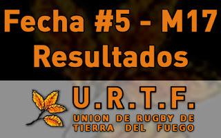 [URTF] Resultados: Menores de 17 - Fecha #5