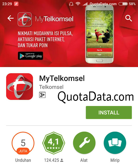 Trik dan Cara Mendapatkan Pulsa 25 Ribu Gratis My Telkomsel Terbaru