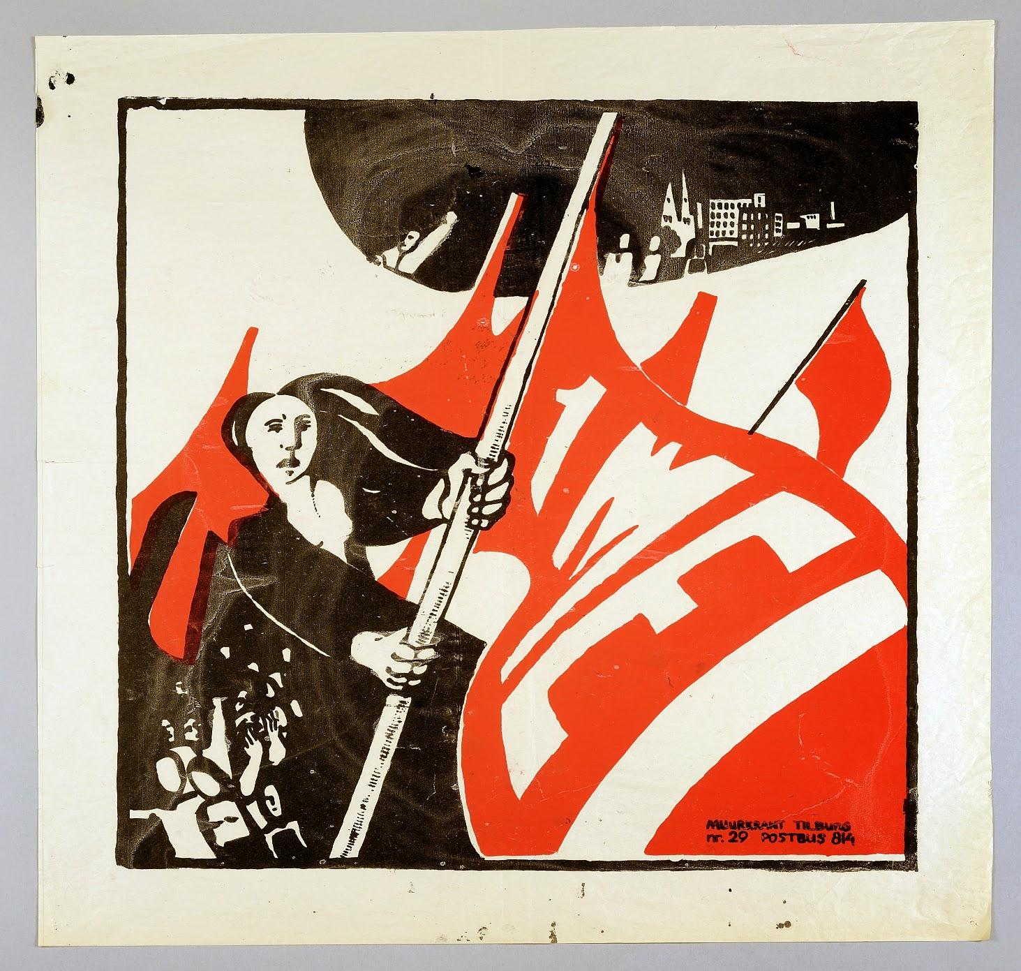 Verbazingwekkend Geen censuur op de muur! De muurkrant in Tilburg 1978-1995 GC-34