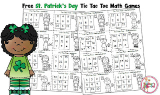 Free St. Patricks Day Math Game