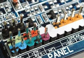 fungsi front panel pada motherboard