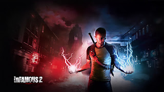 Infamous 2 PS3 Wallpaper