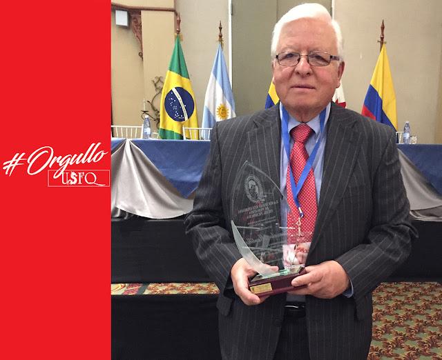 Dr. Gonzalo Mantilla Cabeza de Vaca - Miembro Honorario de la Sociedad Ecuatoriana de Pediatría de Pichincha
