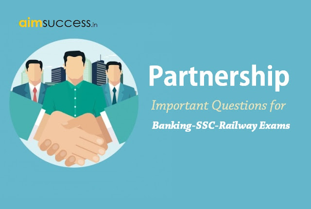 Partnership Questions for SSC CGL Tier-2 2017