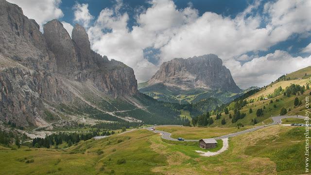 Viaje a las Dolomitas Italia Passo di Gardena