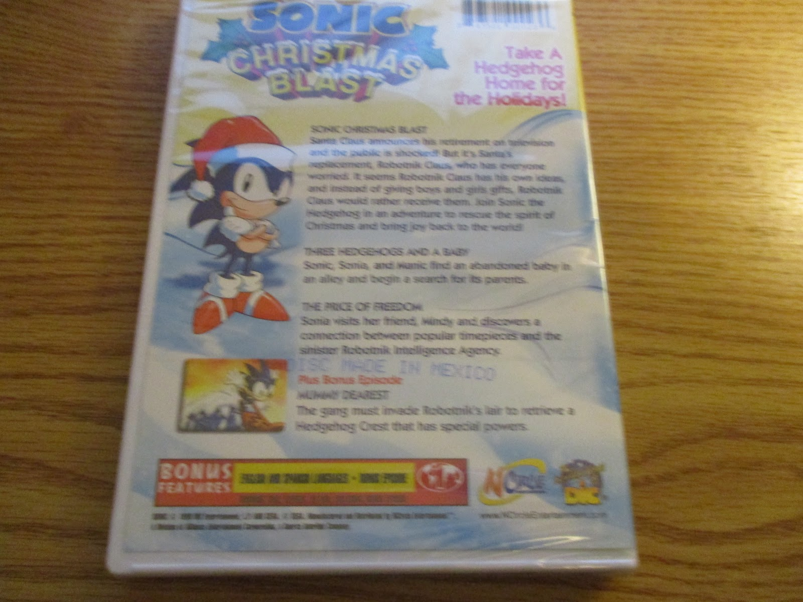 disclaimer i received one or more of the products or services mentioned above for free in the hope that i would mention it on my blog - Sonic Christmas Blast