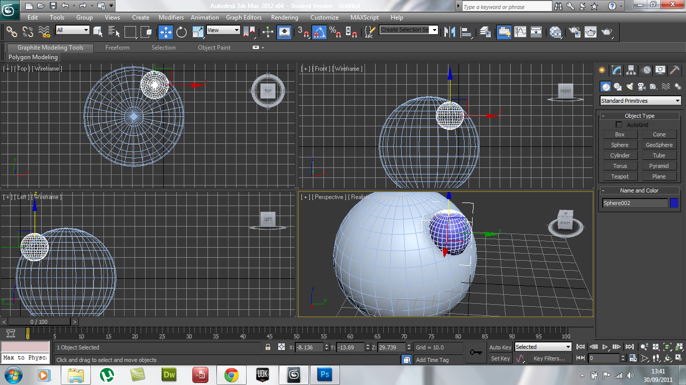 I Did The Alignment Myself: 3D Modelling & Animation: Week 2