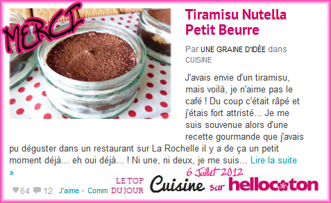 recette tiramisu nutella sans cafe recettes de tiramisu. Black Bedroom Furniture Sets. Home Design Ideas