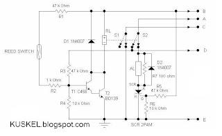 Alarm Sepeda Motor Sensor Magnet