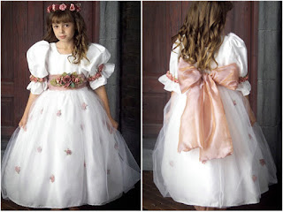 Pretty Cute Flower Girl Wedding Dress