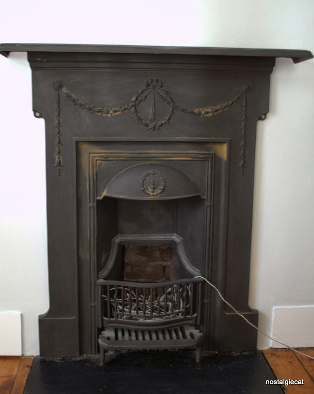 Remove Rust From A Cast Iron Fireplace, How To Clean Cast Iron Fireplace Grate