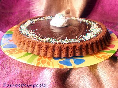 Crostata morbida al cioccolato
