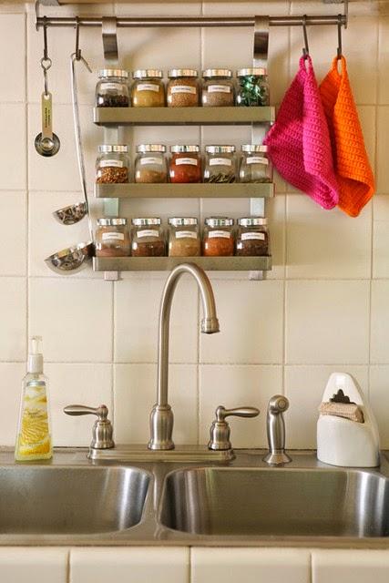 onde colocar temperos cozinha