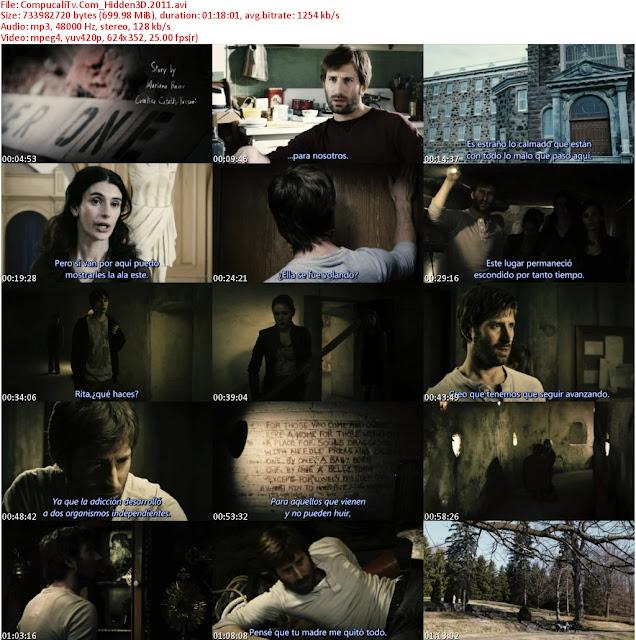 Hidden 3D (2011) R5 Subtitulos Español