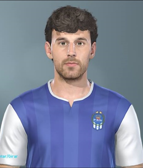 Pes 2019 Faces Lucas Moura By Hugimen: PES 2019 Faces Ruben Pardo By Lucas Facemaker