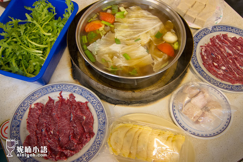 【台南美食】阿裕牛肉涮涮鍋。奇美博物館附近必吃排隊美食
