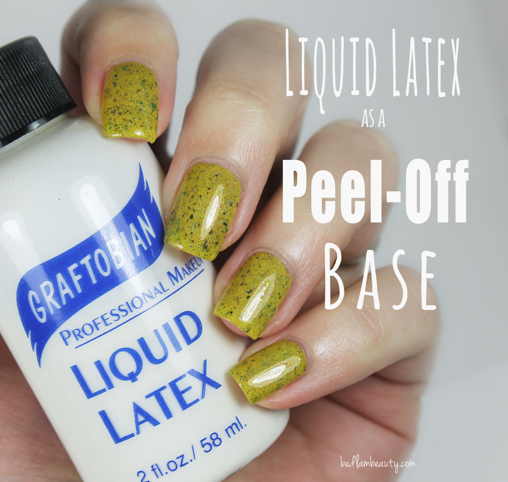 Bedlam Beauty: My Favorite Peel-Off Base: Liquid Latex