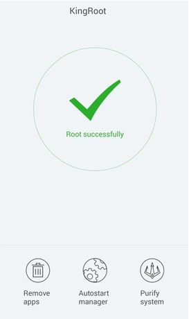root completo con kingroot android