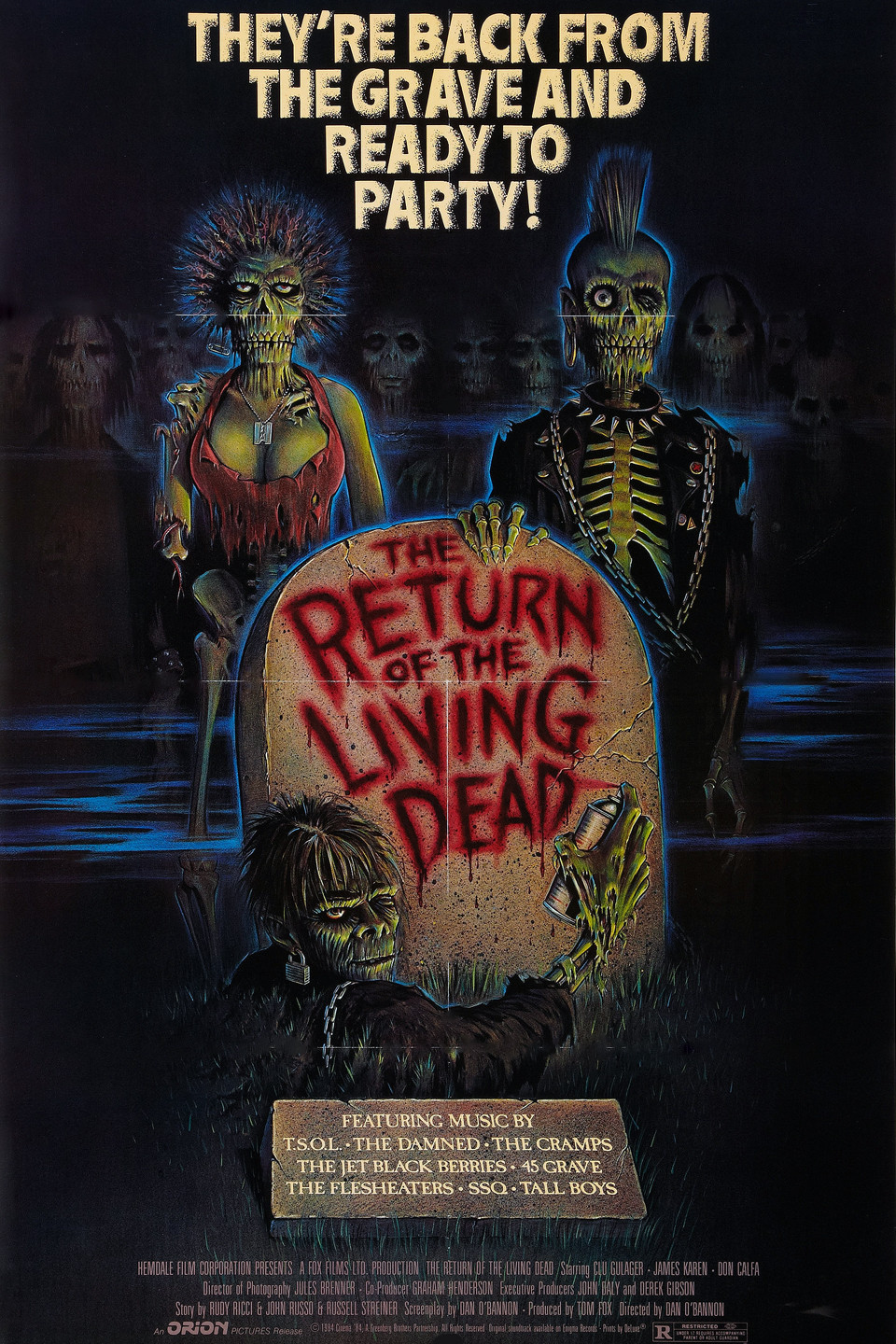 Scream factory return of the living dead on blu ray