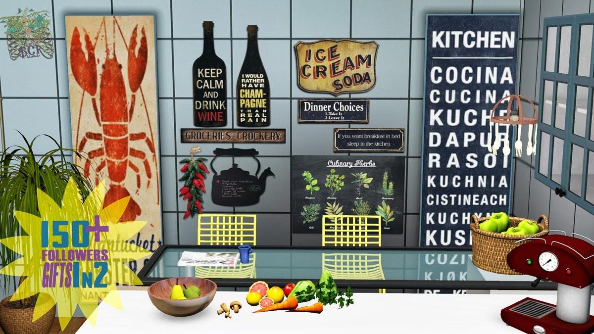 Kitchen Decor Sims 3