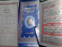 Geger, Beredar Mushaf Al Quran Kurang Satu Ayat