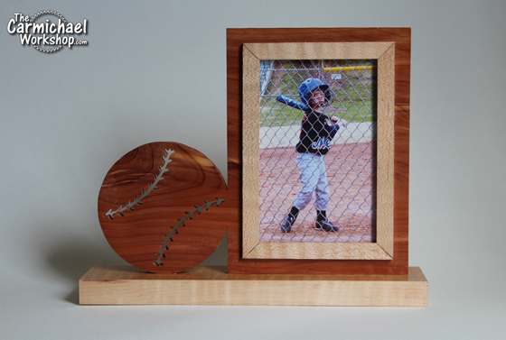 Baseball Picture Frame by The Carmichael Workshop