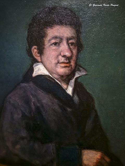 Retrato del poeta Moratín, Francisco de Goya - Museo Bilbao por EGVP