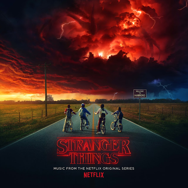 """Stranger Things - Music From The Netflix Original Series"" - Album Artwork"