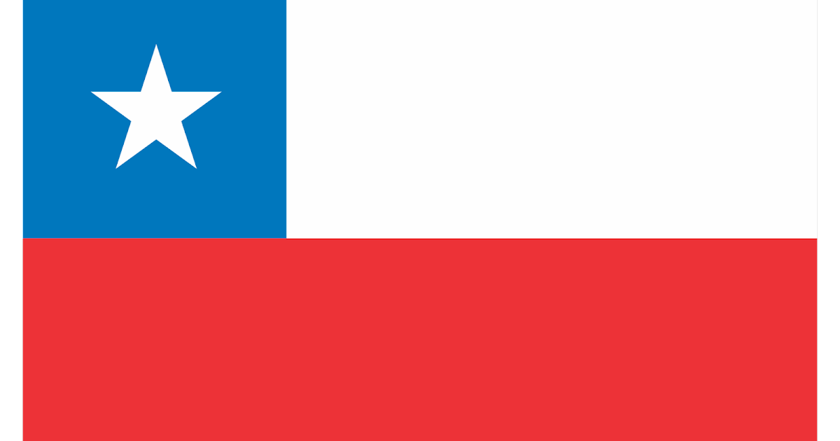 Bandera De Chile Logo Vector~ Format Cdr, Ai, Eps, Svg