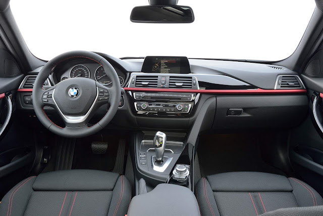 BMW Série 3 2018 - interior